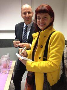 Con Angelo Dottore Presidente di CNA Comunicazione e Terziario Avanzato di Modena