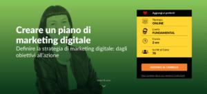 Corso online Creare un piano di marketing digitale